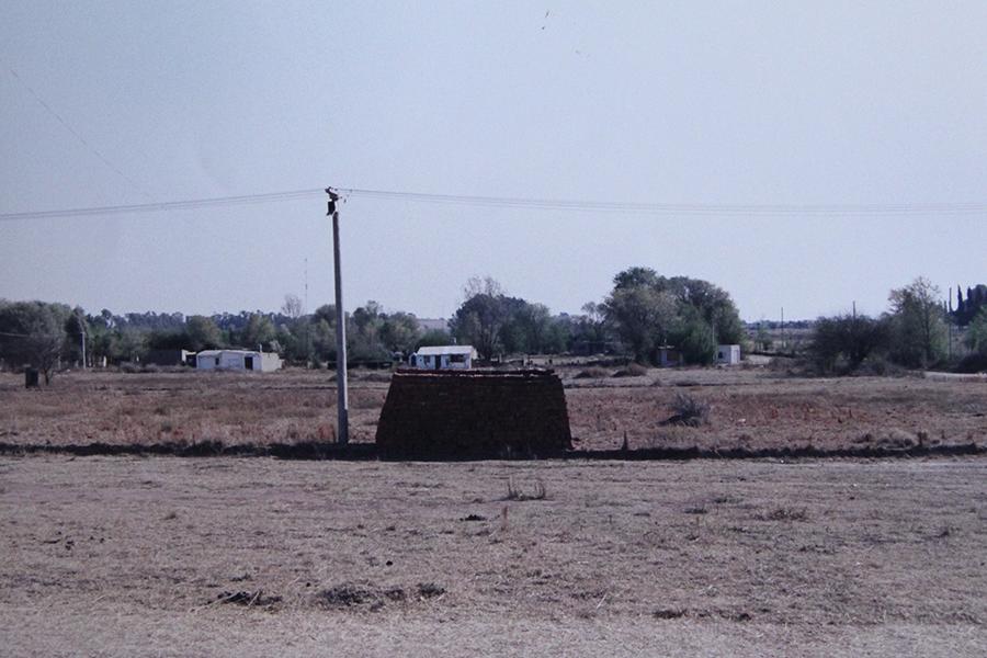 Terrenos adquiridos por la Cooperativa para la construcción de viviendas. Un páramo hasta el año 1996, transformado después en un pujante sector de la población.